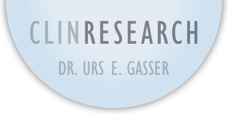 CLINRESEARCH / Dr. Urs E. Gasser / Switzerland